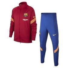 Barcelona Trainingsanzug Dry Strike - Bordeaux/Gelb Kinder