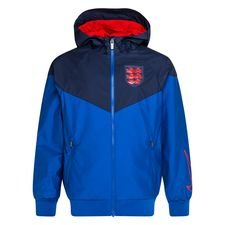 England Windrunner Woven Authentic EURO 2020 - Blau/Navy/Rot Kinder