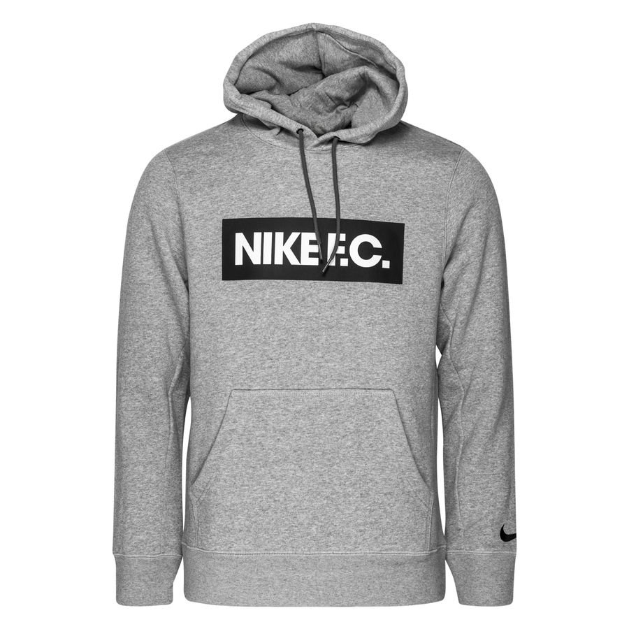 Nike F.C. Hættetrøje Essentials - Grå/Hvid/Sort thumbnail