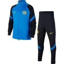 Inter Mailand Trainingsanzug Dry Strike - Blau/Schwarz/Gelb Kinder