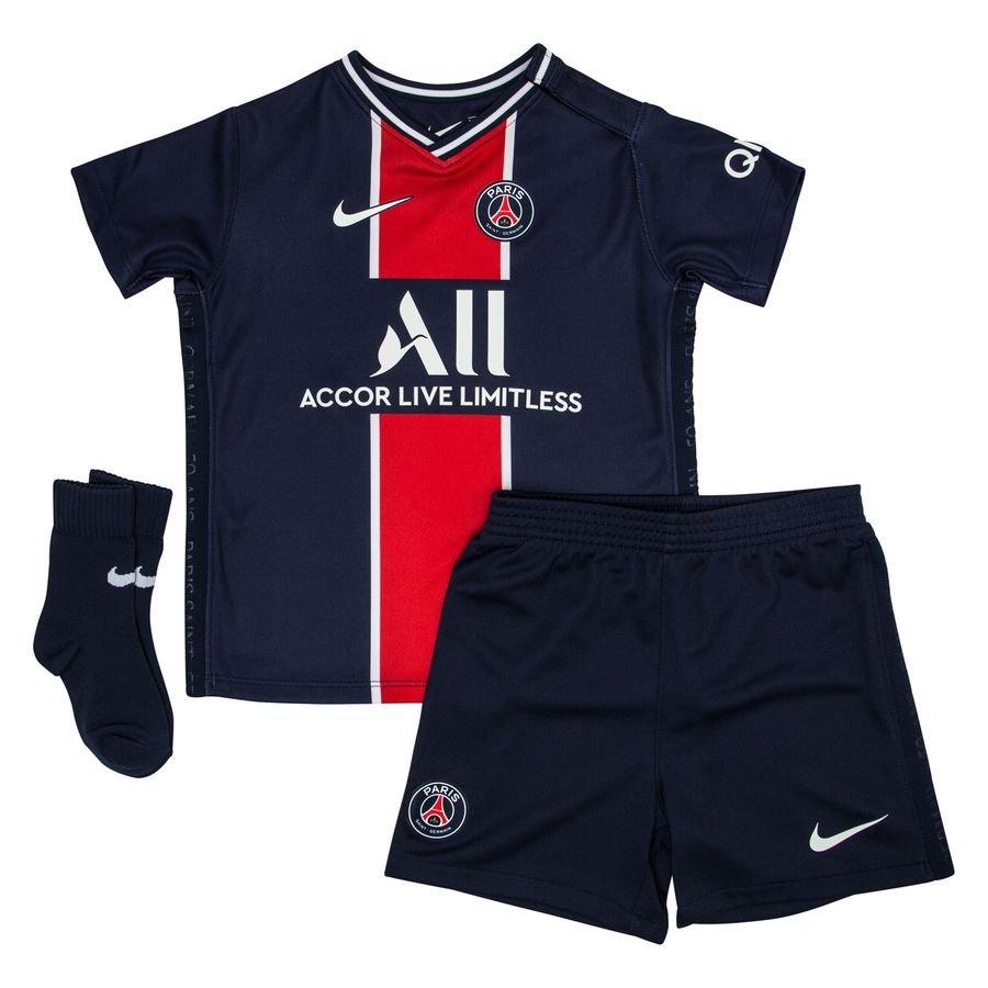 Nike Paris Saint-Germain Hjemmebanetrøje 2020/21 Baby-Kit Børn