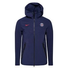 Paris Saint-Germain Luvtröja NSW Tech Pack FZ - Navy/Röd