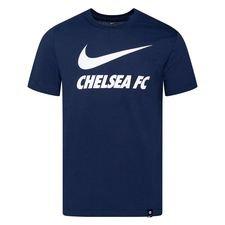 Chelsea T-Shirt Training Ground - Navy/Vit Barn