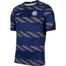 Chelsea Tränings T-Shirt Breathe Pre Match - Blå/Vit