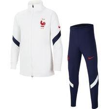 Frankreich Trainingsanzug Dry Strike EURO 2020 - Weiß/Blau/Rot Kinder