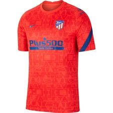 Atletico Madrid Tränings T-Shirt Breathe Pre Match - Röd/Navy