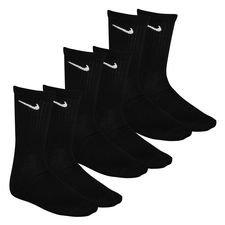 Nike Socken Everyday Cush Crew 3er-Pack - Schwarz/Weiß