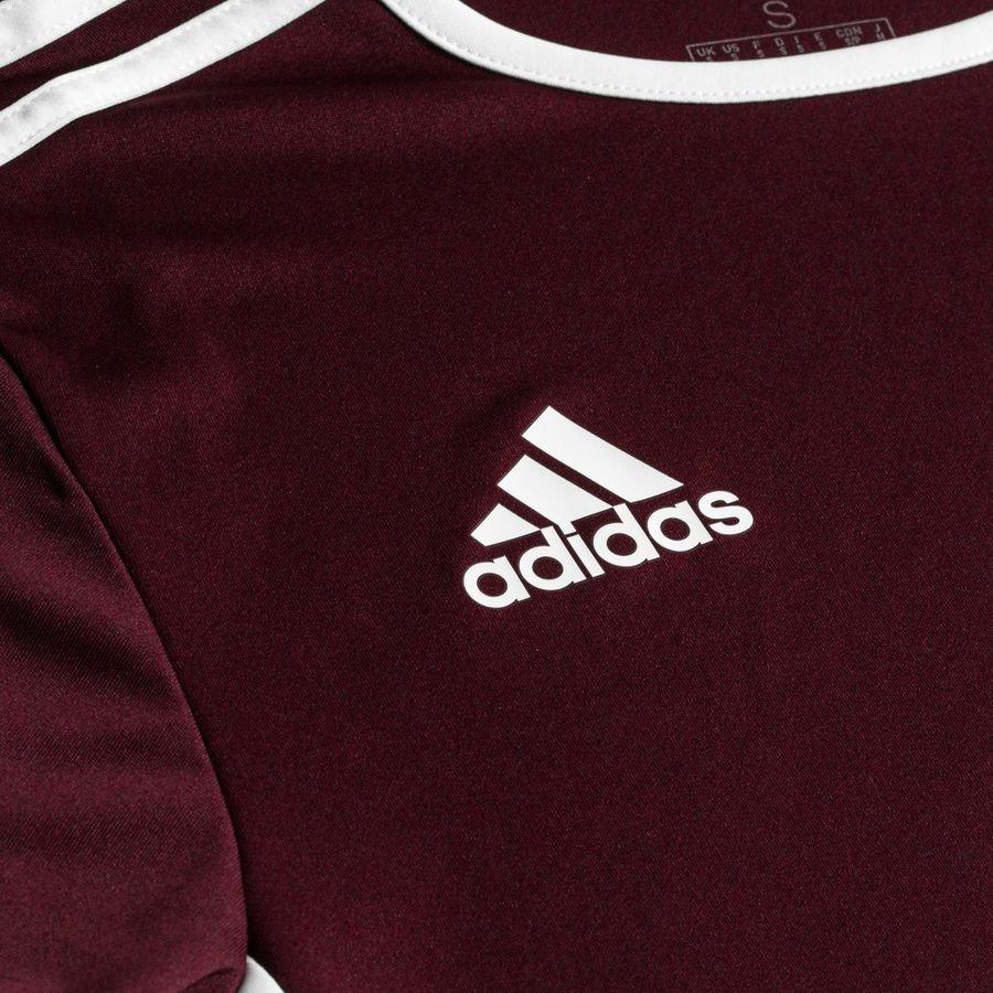 adidas Trenings T Skjorte Entrada 18 BordeauxHvit Barn