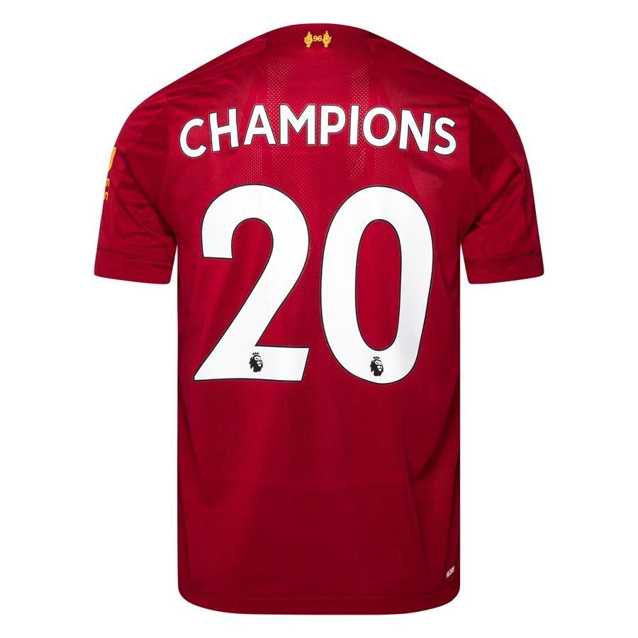 schwarz Liverpool 2020 Meister Wappen Champions 20 T-Shirt