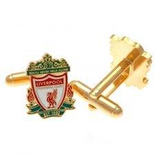 Liverpool Manschettknappar - Guld/Röd