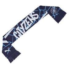Manchester City Halsduk Fan - Navy/Vit