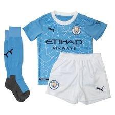 Manchester City Hemmatröja 2020/21 Mini-Kit Barn