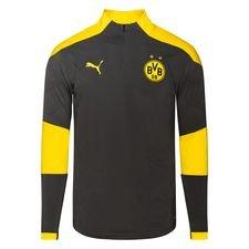 Dortmund Träningströja 1/4 Blixtlås - Grå/Gul