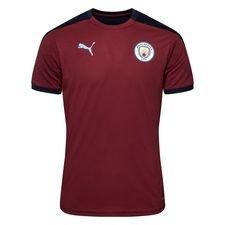 Manchester City Tränings T-Shirt - Röd/Navy Barn