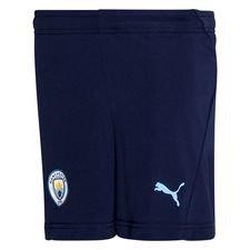 Manchester City Shorts - Navy/Blå Barn