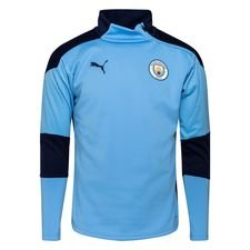 Manchester City Träningströja Fleece - Blå/Navy