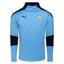 Manchester City Träningströja Fleece - Blå/Navy Barn