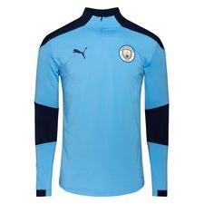 Manchester City Träningströja 1/4 Blixtlås - Blå/Navy