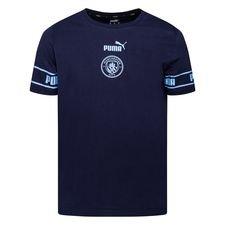 Manchester City T-Shirt FtblCulture - Navy/Blå