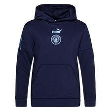 Manchester City Luvtröja FtblCulture - Navy/Blå Barn
