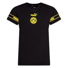 Dortmund T-Shirt FtblCulture - Svart/Gul Barn