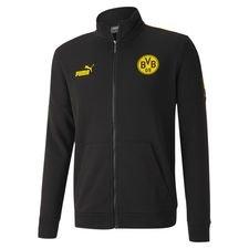 Dortmund Träningsjacka FtblCulture - Svart/Gul Barn