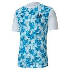 Marseille Tränings T-Shirt Stadium - Vit/Blå