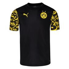 Dortmund Tränings T-Shirt Stadium - Svart/Gul