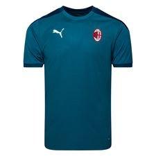 Milan Tränings T-Shirt - Blå/Turkos