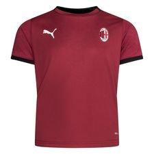Milan Tränings T-Shirt - Röd/Svart Barn
