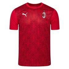 Milan Tränings T-Shirt Stadium - Röd/Svart
