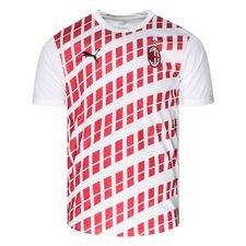 Milan Tränings T-Shirt Stadium - Vit/Röd