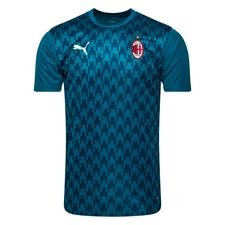 Milan Tränings T-Shirt Stadium - Blå/Turkos