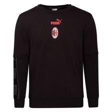 Milan Crewneck FtblCulture - Svart/Röd