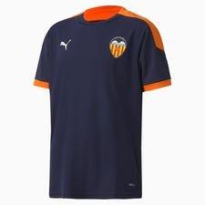 Valencia Tränings T-Shirt - Navy/Orange Barn