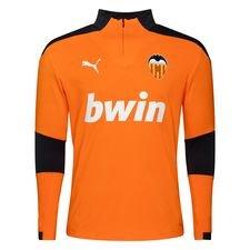 Valencia Träningströja 1/4 Blixtlås - Orange/Grå