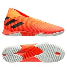 adidas Nemeziz Tango 19.3 IN Laceless - Orange/Sort/Rød