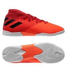 adidas Nemeziz 19.3 IN Inflight - Signal Coral/Schwarz/Glory Red Kinder