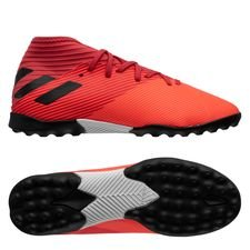 adidas Nemeziz 19.3 TF Inflight - Orange/Sort/Rød Børn