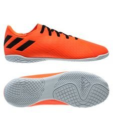 adidas Nemeziz 19.4 IN Inflight - Signal Coral/Schwarz/Rot Kinder