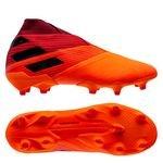 adidas Nemeziz 19+ FG/AG Inflight - Oranje/Zwart/Rood
