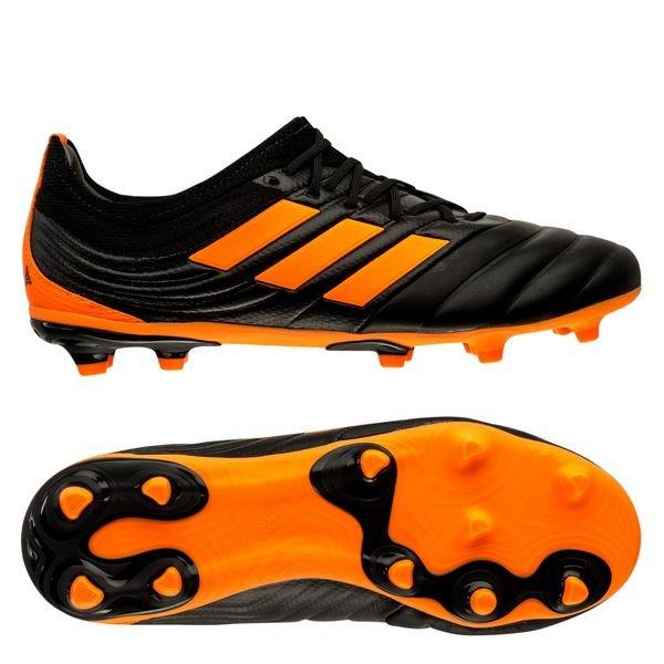 adidas Copa 20.1 FG/AG Precision To Blur - Core Black/Signal Orange Kids