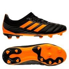 adidas Copa 20.1 FG/AG Precision to Blur - Sort/Orange Børn