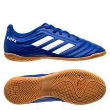 adidas Copa 20.4 IN Inflight - Blau/Weiß Kinder