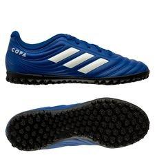 adidas Copa 20.4 TF Inflight - Blau/Weiß Kinder