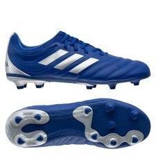 adidas Copa 20.3 FG/AG Inflight - Blå/Sølv Børn