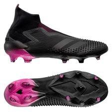 adidas Predator 20+ FG/AG - Sort/Pink