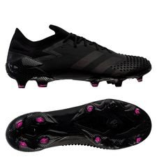 adidas Predator 20.1 Low FG/AG - Sort/Pink