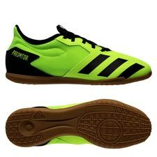 adidas Predator 20.4 IN - Grøn/Sort