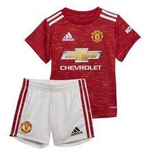 Manchester United Hemmatröja 2020/21 Mini-Kit Barn